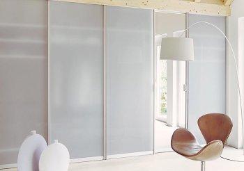 Двери для шкафа купе матовое стекло