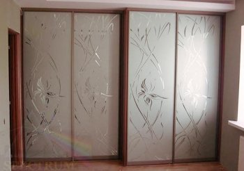 Рисунки пескоструя дверей шкафа купе