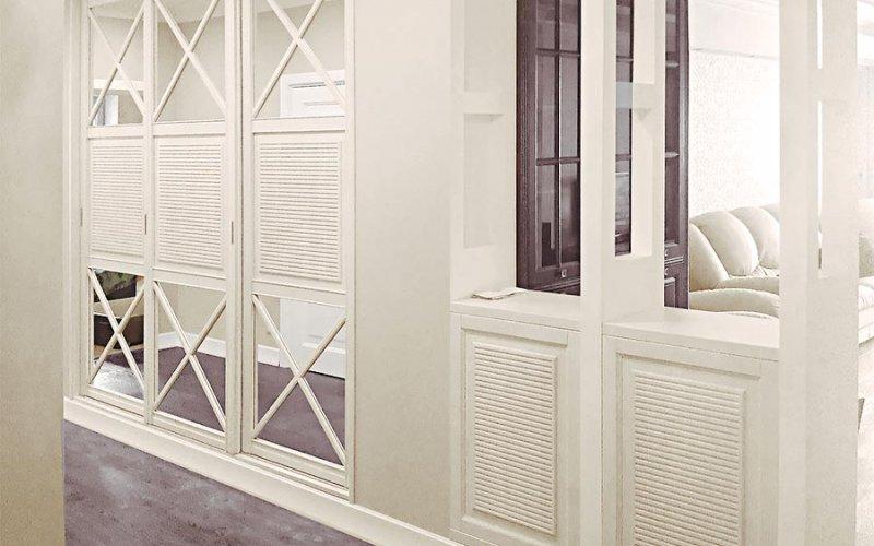 Двери шкафов купе прованс