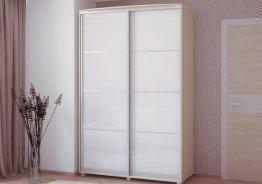 Встроенные шкафы купе стеклянные двери
