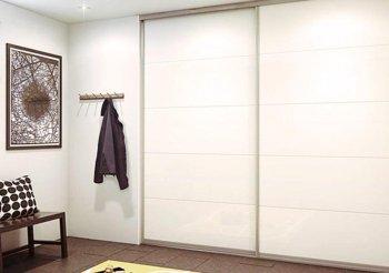 Двери купе для встроенного шкафа стекло
