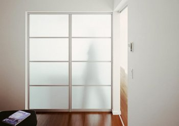 Стеклянная дверь купе межкомнатная