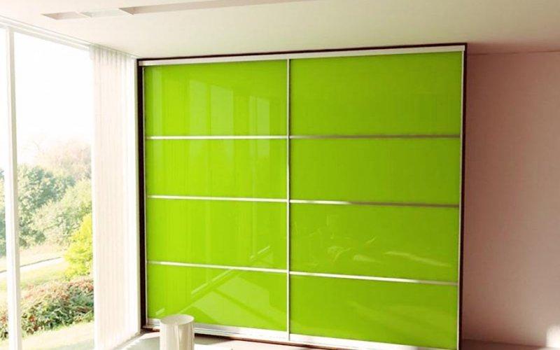 Стеклянные двери для шкафа купе