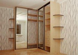 Встроенные шкафы купе аристо