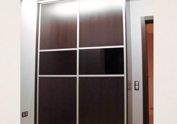 Шкаф купе венге без зеркала