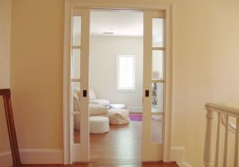 Дверь купе межкомнатная пенал