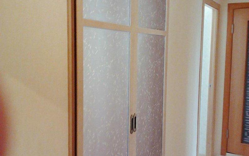 Откатные двери перегородки