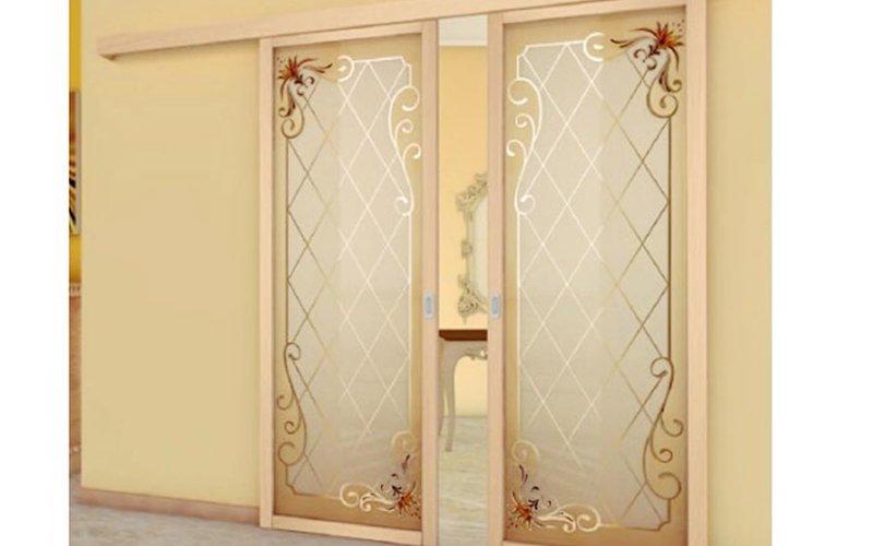 Дверные перегородки раздвижные