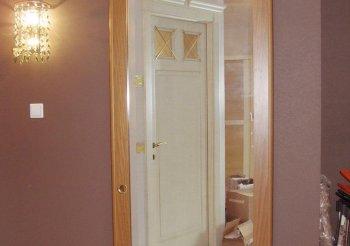 Зеркальная перегородка раздвижная в комнату