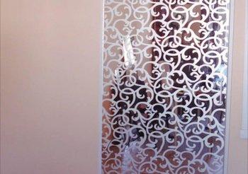 Сдвижные перегородки для квартиры зеркало