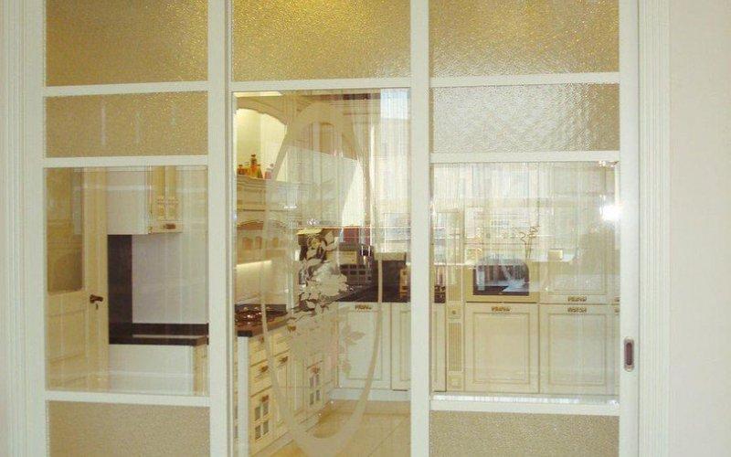 Раздвижные межкомнатные двери кухня и гостиная