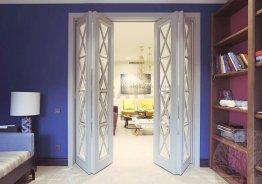 Раздвижные деревянные двери межкомнатные