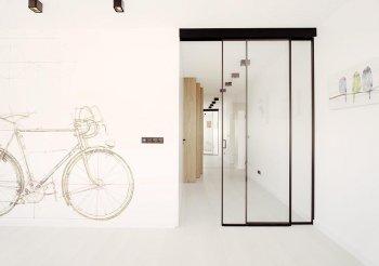 Раздвижные межкомнатные двери лофт