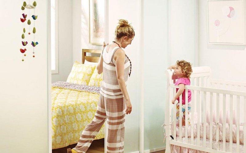 Раздвижные двери в детскую комнату