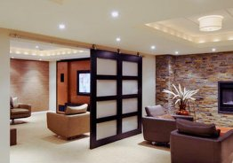Раздвижные двери для разделения комнаты