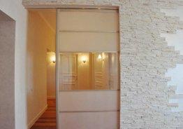 Раздвижная межкомнатная дверь в нише