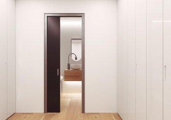 Раздвижные двери межкомнатные пенал