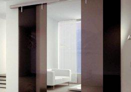 Раздвижные двери до потолка
