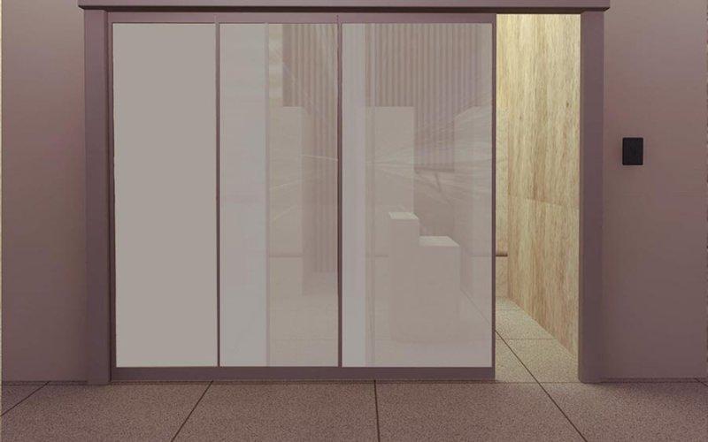 Раздвижные межкомнатные двери до потолка