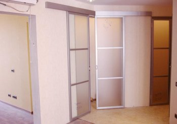 Высокие раздвижные двери межкомнатные